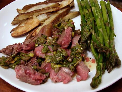 Dinner:  April 26, 2009