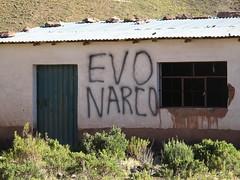Tag anti Evo Morales