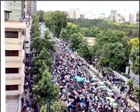 Latest: Tehran Streets