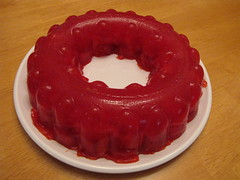 Strawberry/Raspberry Jell-O Ring