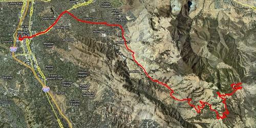 Mt Diablo map