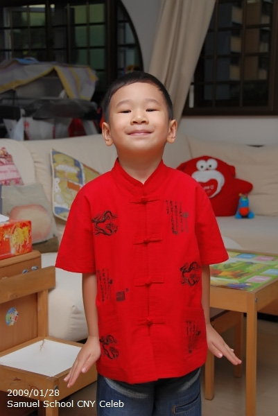 Samuel 2009 CNY School Celebration