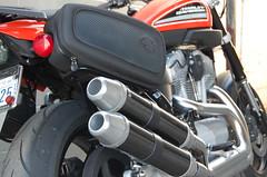 Silver & Carbon Slipon For Harley Davidson XR1200 Sportster