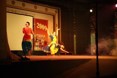 A dance show related to Sri Narasimha