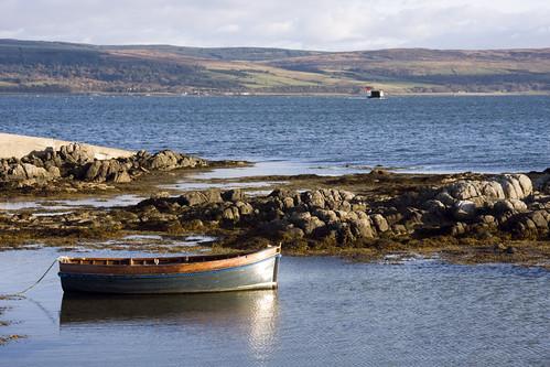 Gigha boatscape