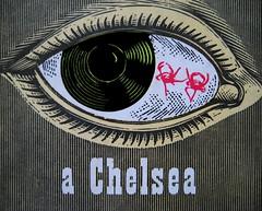 Anonimo (Michael Nelson), Una camera a Chelsea, Longanesi 1958, copertina (part.) 2