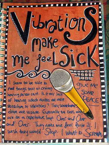 Bad Vibrations Journal Page