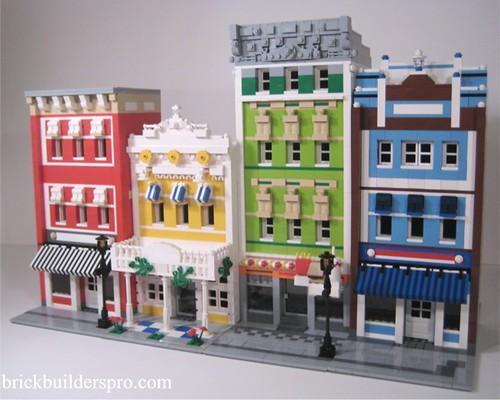 LEGO street scene