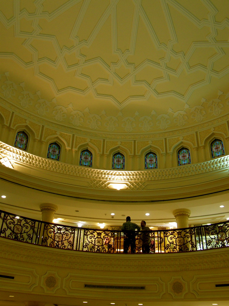 Interior of Blue Souq, Sharjah