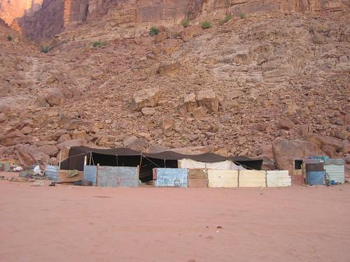 Beduin camp, Wadi Rum