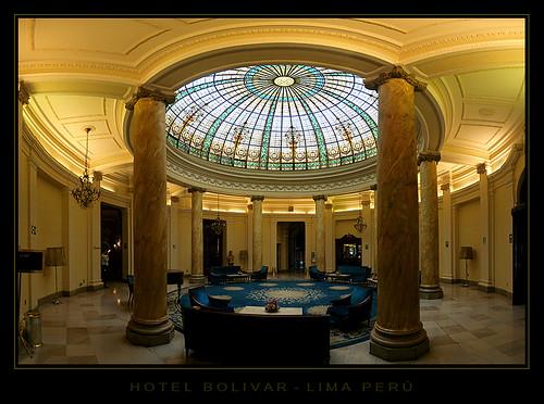 Hotel in Lima Bolivar Reception