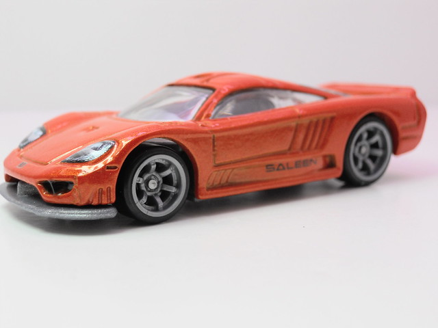 hot wheels speed machines saleen s7 orange (2)