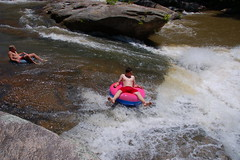 Tubing on the Chauga
