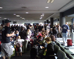 Packed House at LAX Terminal 2