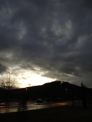 Parece ser... que va a llover