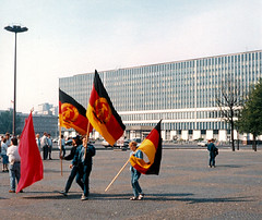 East Berlin 1990 - Party of Democratic Sociali...