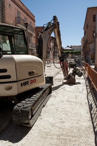 Obras en los aledaños del mercado municipal (III)