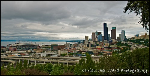 Seattle Skyline Morning