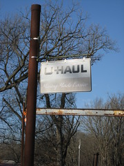 U-Haul Faded Sign