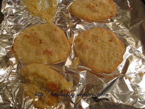 Apricot cookie fail