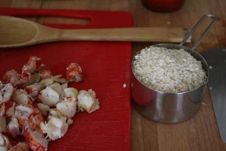 Lobster, meet rice