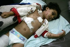 He was running, causing fear to Israeli people by freegazaorg