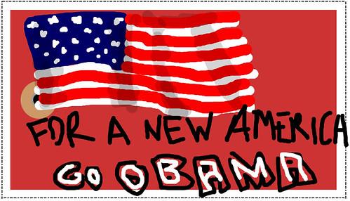 for a new america go obama