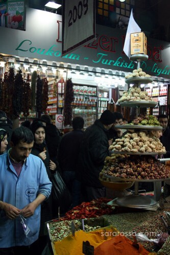 At the Spice Bazaar, Istanbul, Turkey