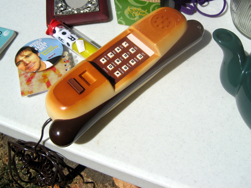 Hot dog phone