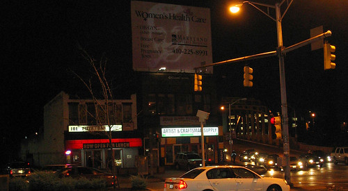 20081115 - SubGenius Baltimore Devival #2 - 0 - Yup, it's the right place - projected Dobbshead - (by RadioFreeMountairy@Flickr) - 3035653554_a96795d04d_o - please click through to leave a comment on FlickR