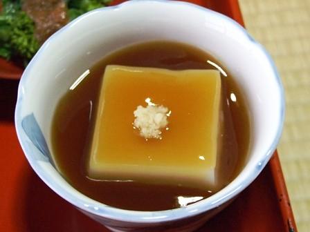 ごま豆腐~精進料理