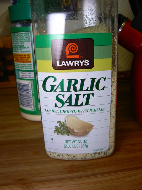 Garlic Salt (My fav)