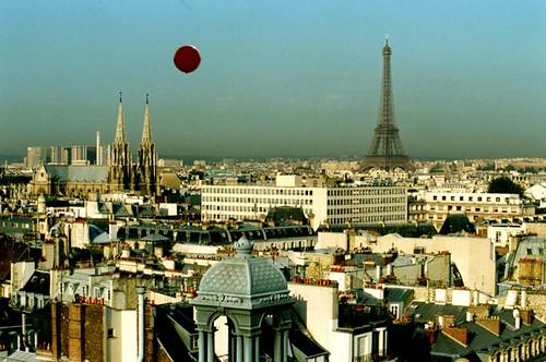 El vuelo del globo rojo por ti.