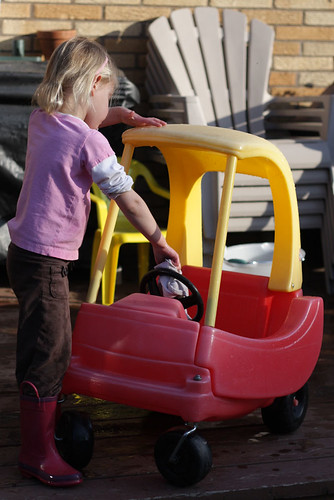 Cleaning The Cozy Coupe