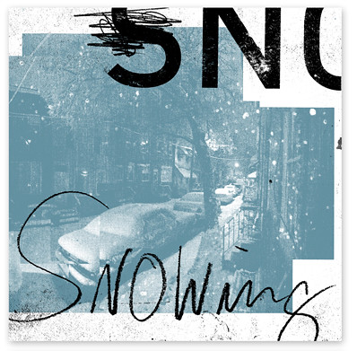 Snowing EP Vinyl cover