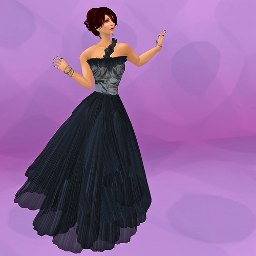 Midnight at Maracas Gown by Meiling