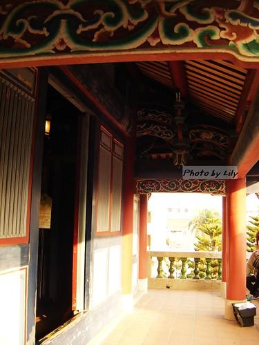 台南赤崁樓內一景