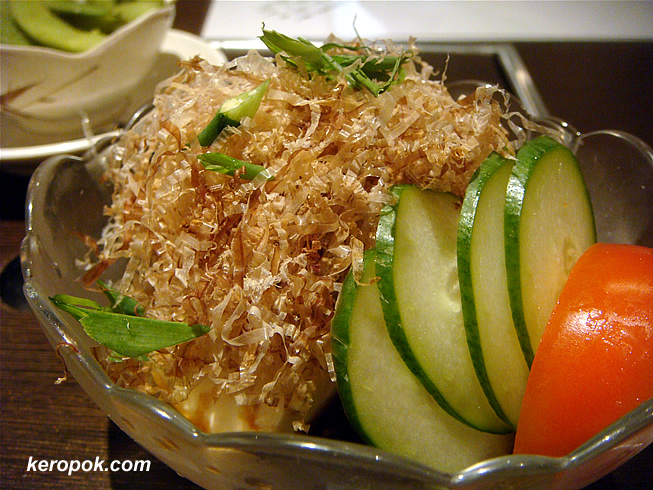 Hiyayakko - Cold Tofu