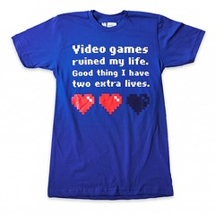 video games ruined my life, luckily I had two more