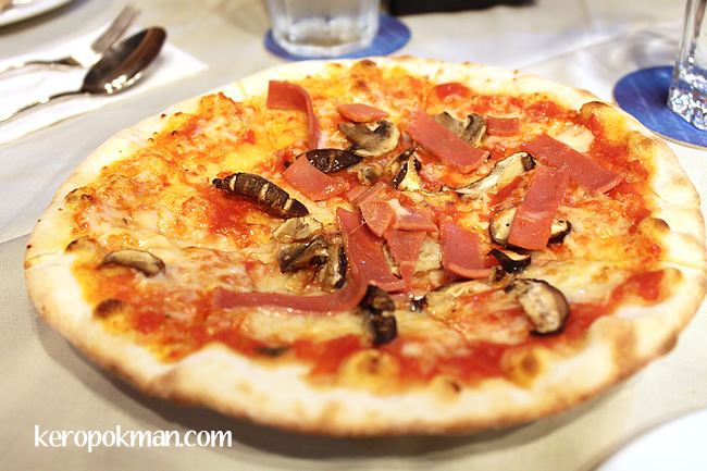 Kids Pizza - Ham and Mushroom