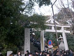 初詣2009