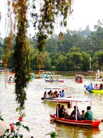 Blue Lagoon @ Burnham Park in Bagiuo City