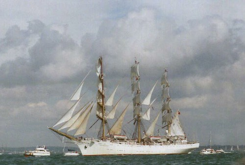 Sailing a Tall Ship