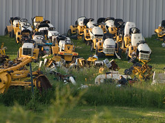 anyone need a rider mower?