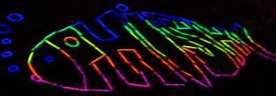 Glowstick Phish Logo