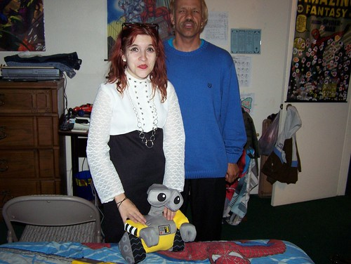 Uncle Jay & I in my sons Spiderman Room