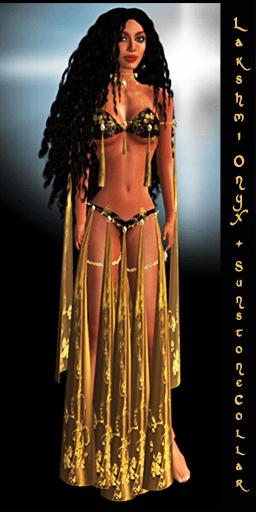 Lakshmi Onyx by Silk & Satyr