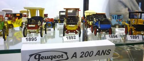 modellini Peugeot