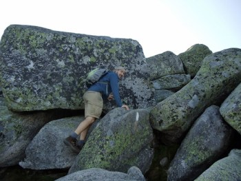 The Boulders on the Katahdin Hunt Trail.