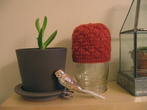 baby foliage hat
